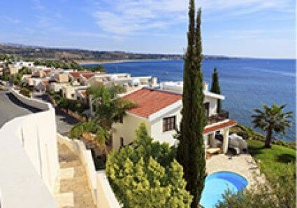 View of Cyprus Homes with Sea View