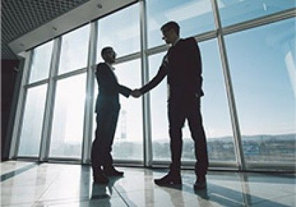 Business Meeting Shaking Hands