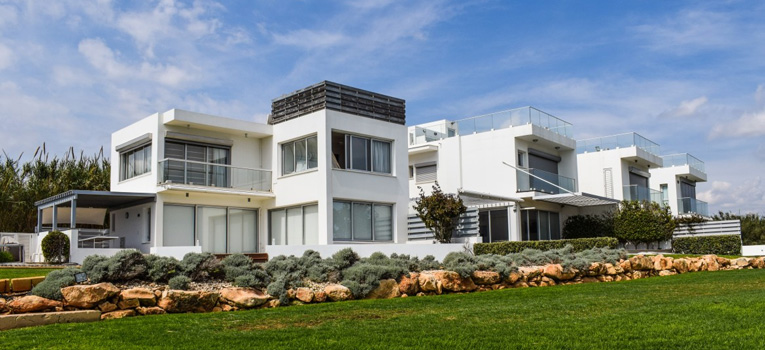 Luxury white property in Cyprus