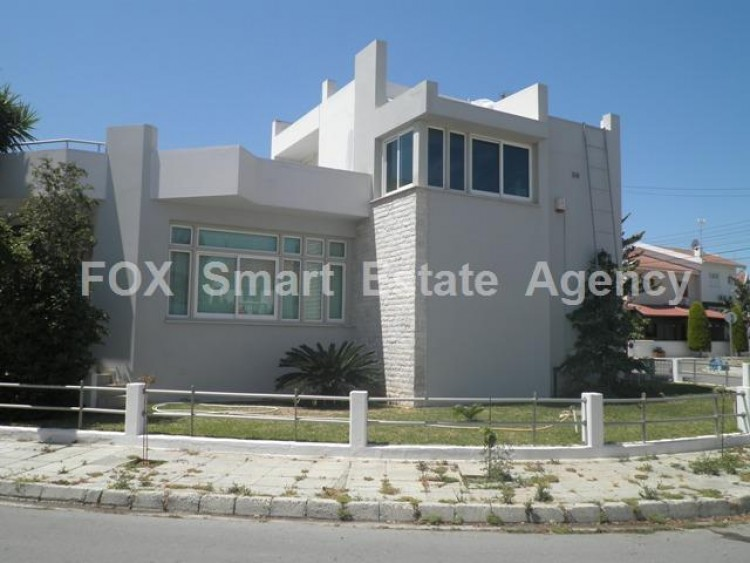 To Rent 4 Bedroom Detached House in Strovolos, Nicosia