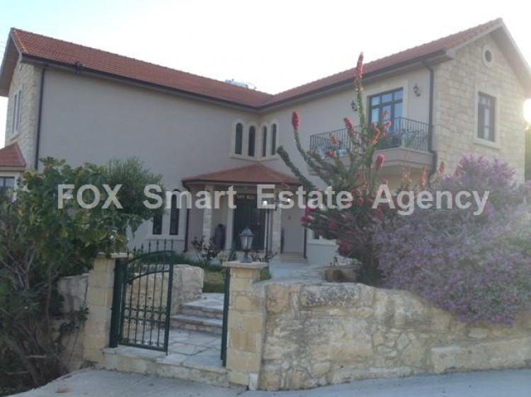 To Rent 4 Bedroom Detached House in Apesia, Limassol