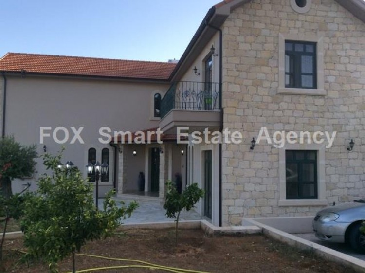 To Rent 4 Bedroom Detached House in Apesia, Limassol 2
