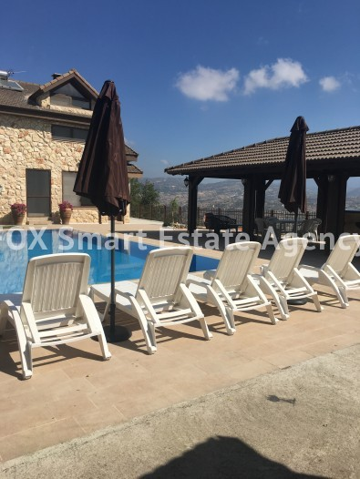 To Rent 5 Bedroom Detached House in Pachna, Limassol 6