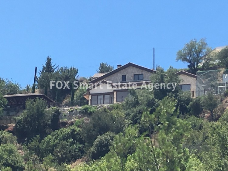 To Rent 5 Bedroom Detached House in Pachna, Limassol 6 24