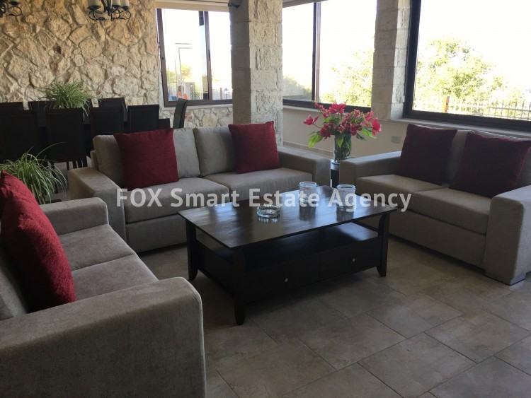 To Rent 5 Bedroom Detached House in Pachna, Limassol 6 9