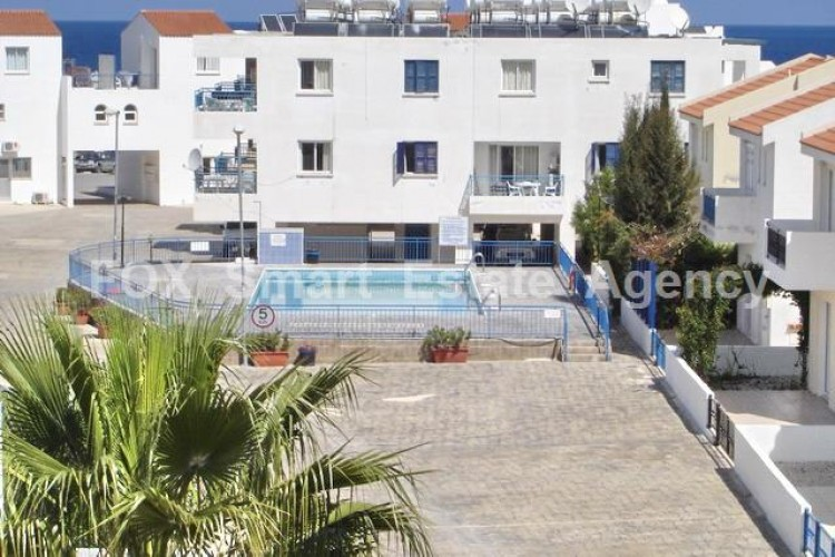 For Sale 1 Bedroom Ground floor Apartment in Latchi, Polis Chrysochou, Paphos