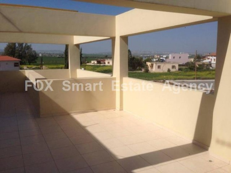 For Sale 1 Bedroom Top floor Apartment in Dromolaxia, Larnaca
