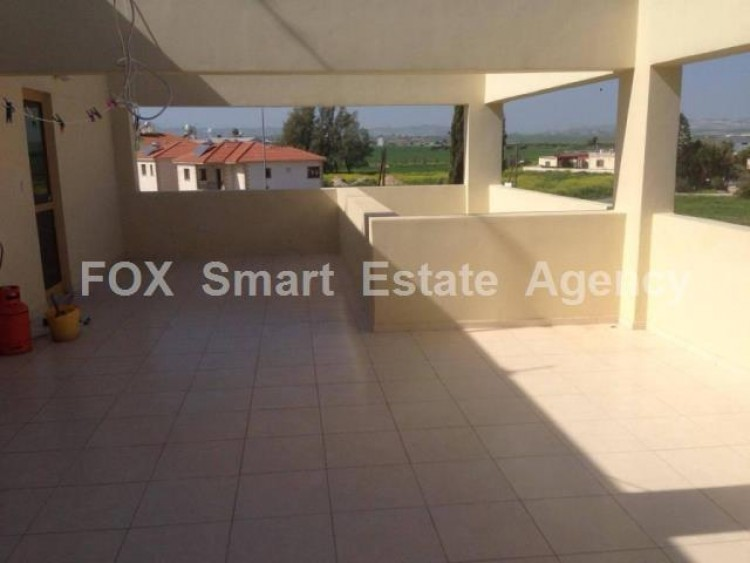 For Sale 1 Bedroom Top floor Apartment in Dromolaxia, Larnaca 2