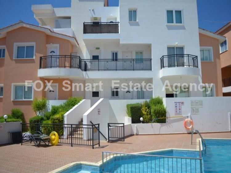 For Sale 1 Bedroom Whole floor Apartment in Agios theodoros, Pafos, Paphos