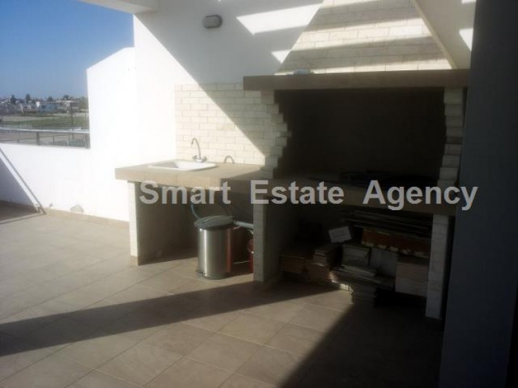 For Sale 2 Bedroom Top floor with roof garden Apartment in Salamina stadium area, Larnaca 16