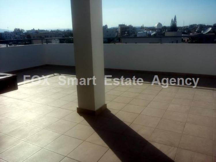For Sale 2 Bedroom Top floor with roof garden Apartment in Salamina stadium area, Larnaca 17