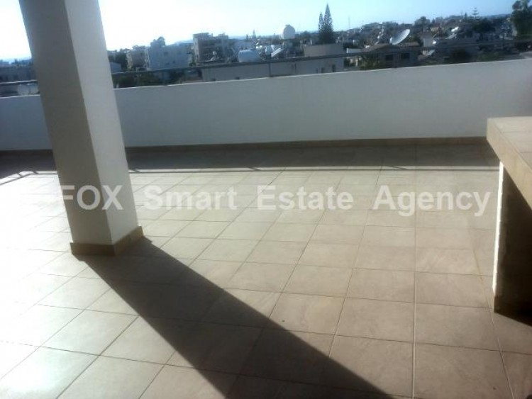 For Sale 2 Bedroom Top floor with roof garden Apartment in Salamina stadium area, Larnaca 18