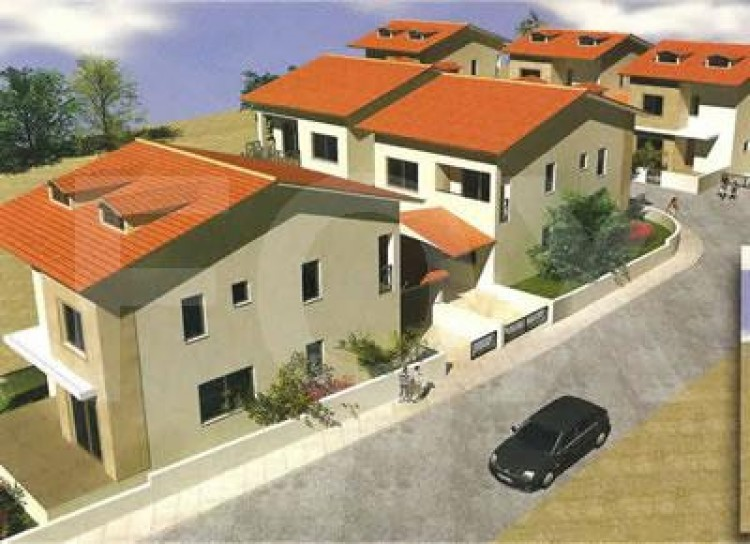 For Sale 3 Bedroom Semi-detached House in Troulloi, Larnaca