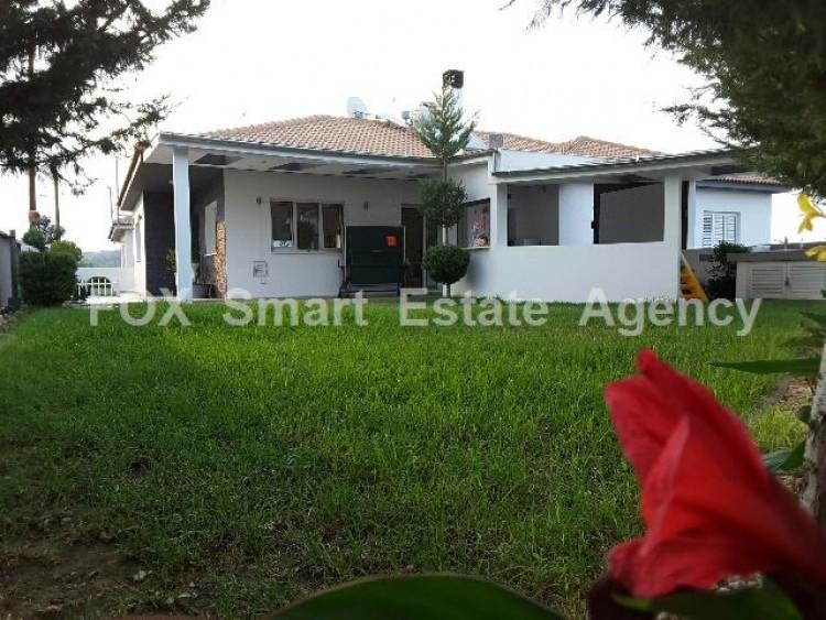 For Sale 4 Bedroom Detached House in Kalo Chorio Oreinis, Nicosia