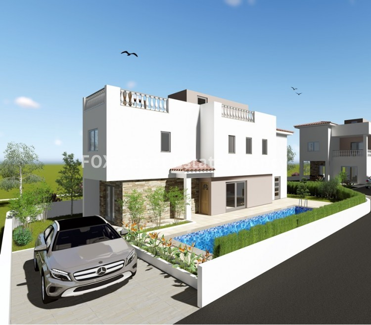 For Sale 3 Bedroom Detached House in Mesa chorio, Paphos 2