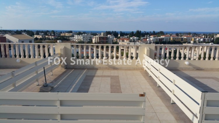 For Sale 2 Bedroom Top floor with roof garden Apartment in Pafos, Paphos