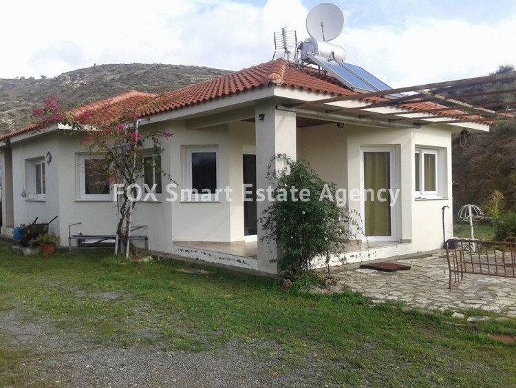 For Sale 3 Bedroom Bungalow (Single Level) House in Asgata, Limassol
