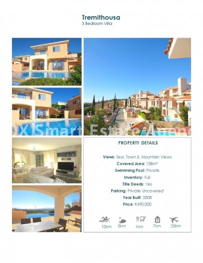 For Sale 3 Bedroom  House in Pafos, Paphos