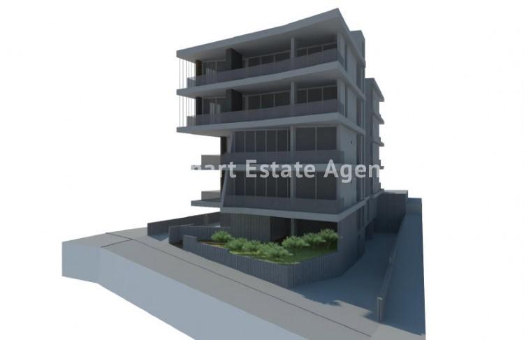For Sale 2 Bedroom Top floor Apartment in Akropolis, Nicosia