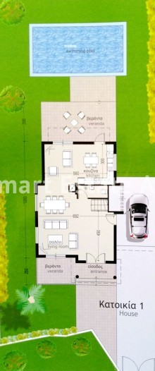 For Sale 3 Bedroom Detached House in Agia napa, Famagusta 20