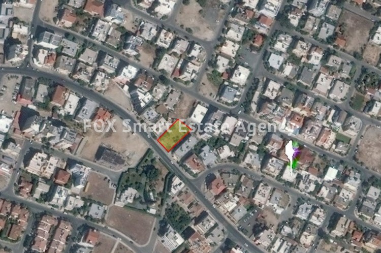 For Sale Commercial Plot 688sq.m in Strovolos