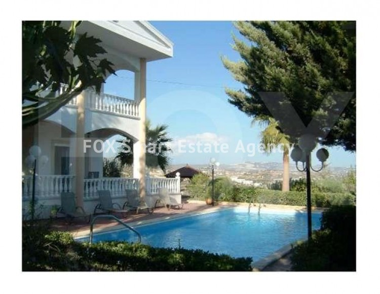 To Rent 4 Bedroom  House in Agios tychonas, Agios Tychon, Limassol
