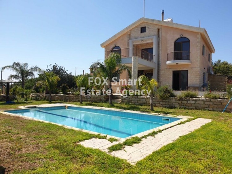 For Sale 5 Bedroom  House in Pyrgos Lemesou, Limassol