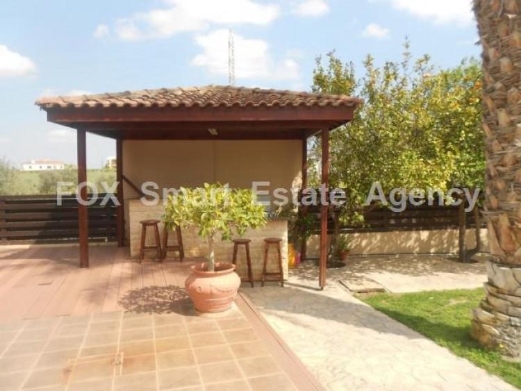 For Sale 4 Bedroom Detached House in Agios fanourios, Aradippou, Larnaca 13