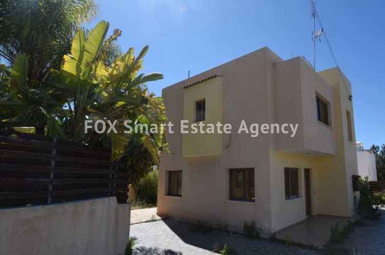 For Sale 3 Bedroom Detached House in Pafos, Paphos