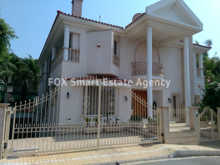 To Rent 6 Bedroom Detached House in Limassol, Limassol
