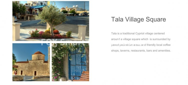 For Sale 3 Bedroom Top floor Apartment in Tala, Paphos 2