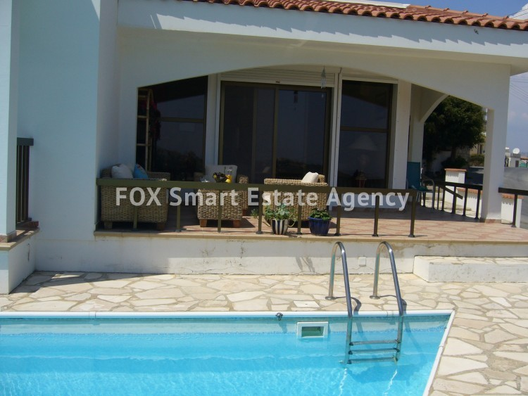 For Sale 4 Bedroom Detached House in Pissouri, Limassol