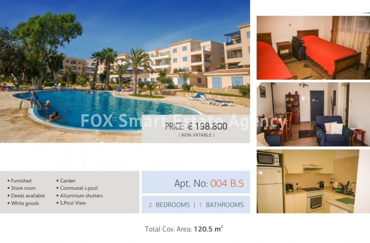 For Sale 2 Bedroom  Apartment in Kato pafos , Paphos 4