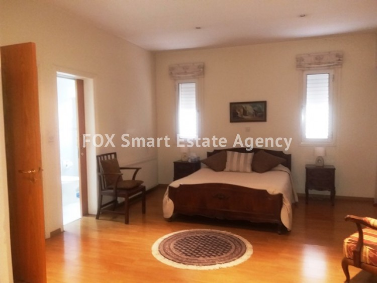 For Rent 4 Bedroom Semi-detached House in Lakatameia, Nicosia 15
