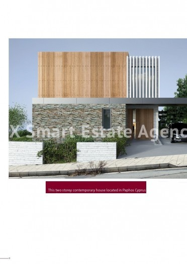 For Sale 4 Bedroom Detached House in Armou, Paphos