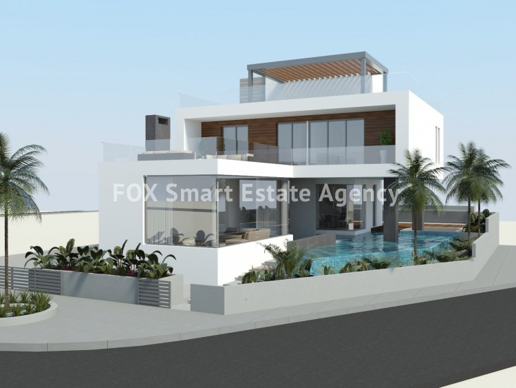 For Sale 4 Bedroom Detached House in Geroskipou, Paphos
