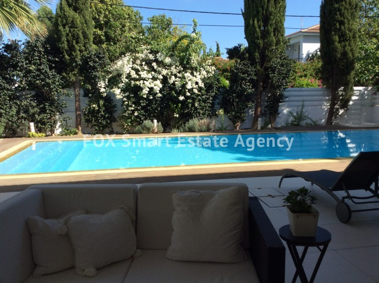 LUXURY DREAM HOUSE WITH A PRIVATE SWIMMING POOL, BUILT IN 2 PLOTS  IN ONE OF THE BEST AREAS OF NICOSIA