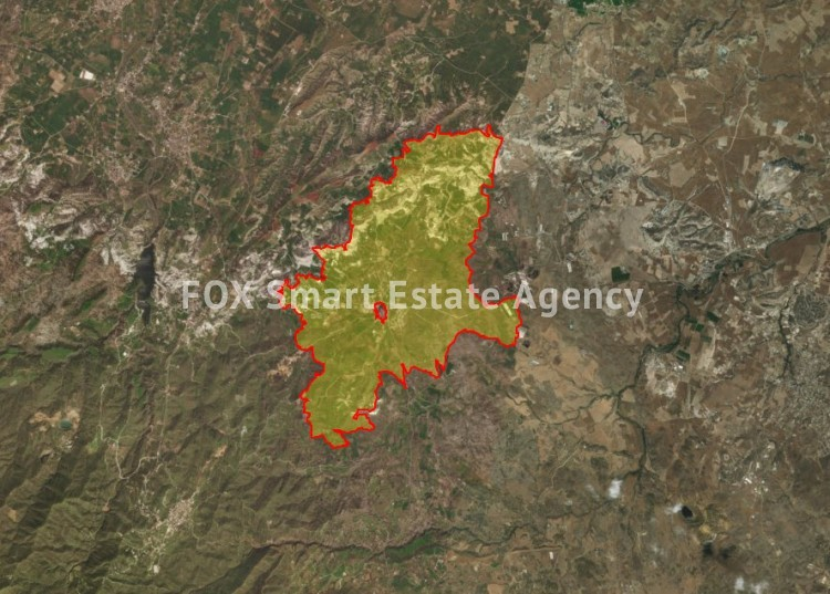 For Sale Agricultural Land 4,088sq.m in Analiontas, Nicosia