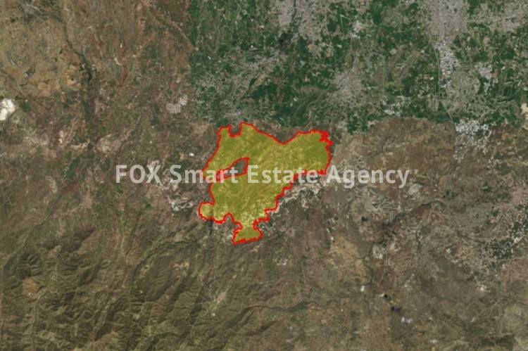 For Sale Agricultural Land 2,676sq.m in Pera, Nicosia