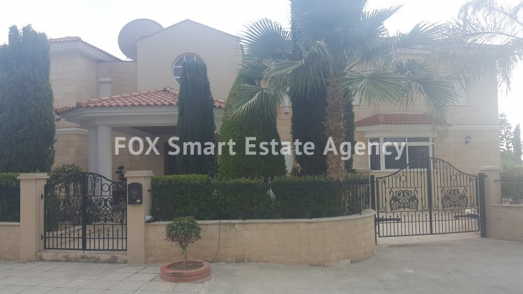 To Rent 6 Bedroom Detached House in Agios tychon, Limassol