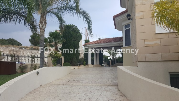 To Rent 6 Bedroom Detached House in Agios tychon, Limassol 29