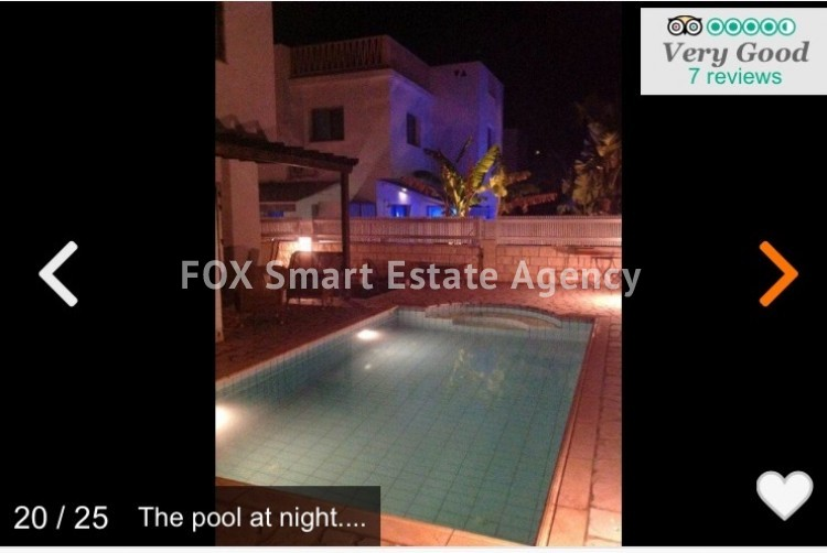 Holiday Let 3 Bedroom Detached Villa with Private Pool in Pernera 15