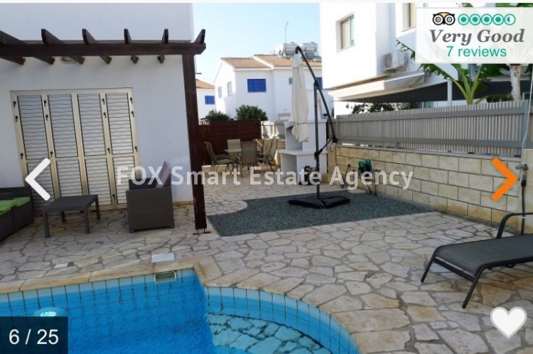 Holiday Let 3 Bedroom Detached Villa with Private Pool in Pernera 5
