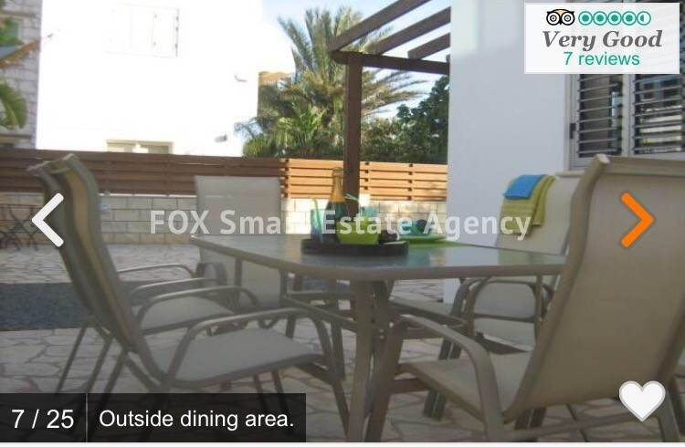 Holiday Let 3 Bedroom Detached Villa with Private Pool in Pernera 6
