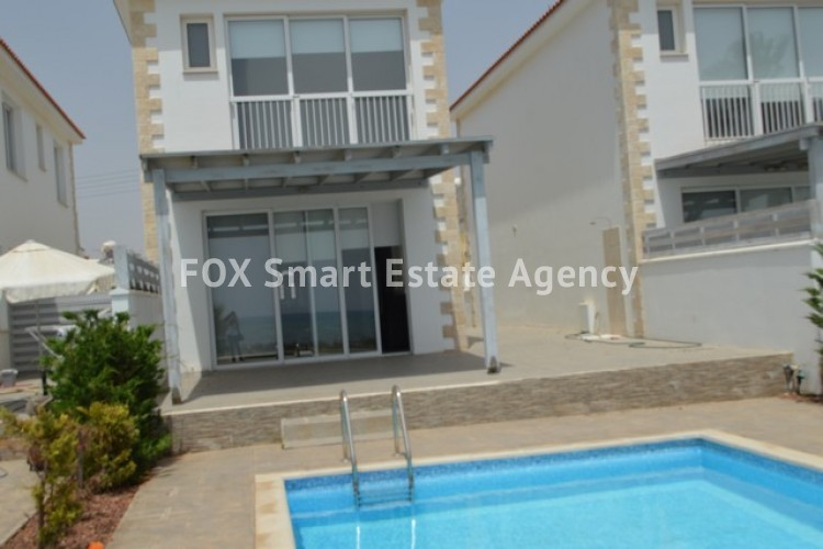 For Sale FRONT LINE 3 Bedroom Detached House in Agia Thekla, Famagusta