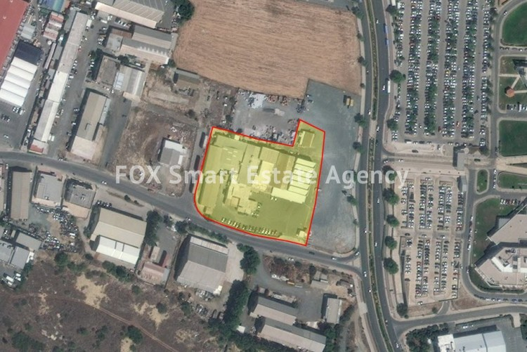 For Sale Industrial Land 9,188sq.m in Strovolos, Nicosia