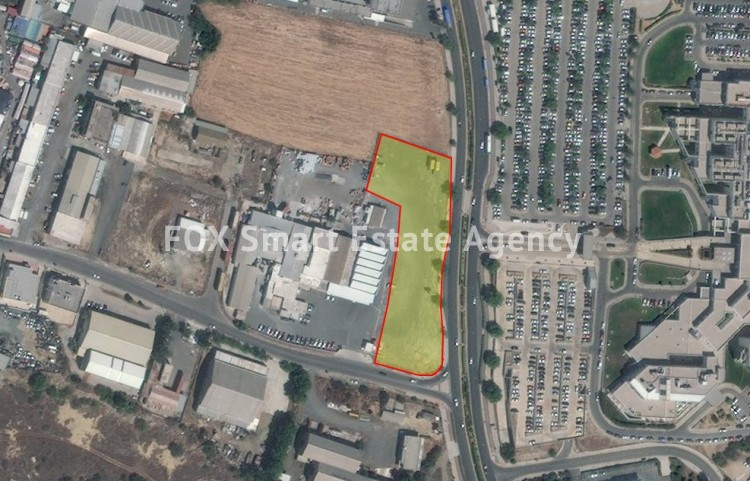 For Sale 5,460sq.m Industrial Land Strovolos, Nicosia