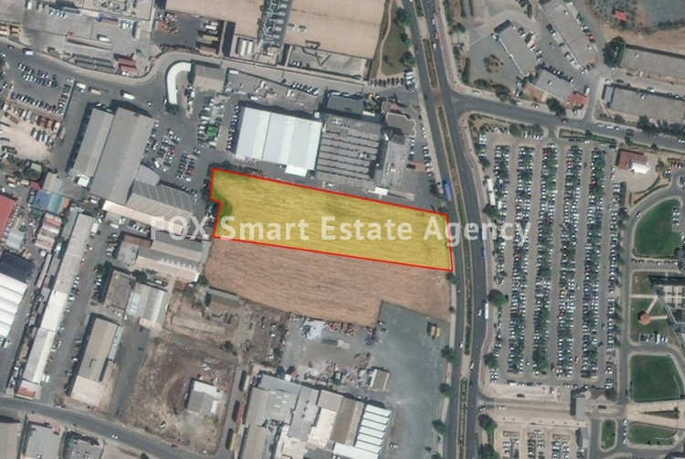 For Sale 6,689sq.m Industrial Land Strovolos, Nicosia