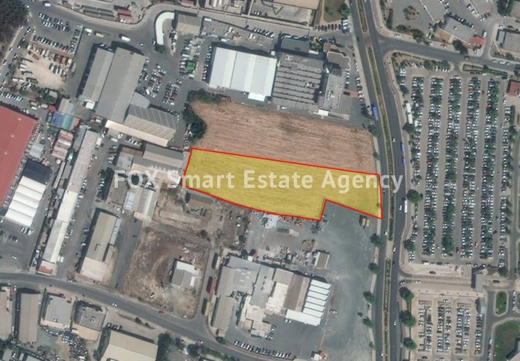 For Sale 6.689sq.m Industrial Land in Strovolos, Nicosia