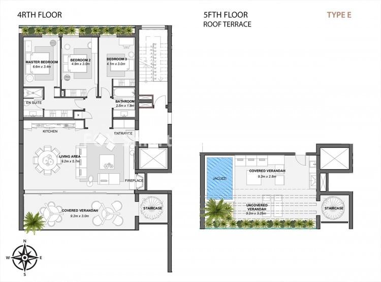 For Sale 3 Bedroom Duplex Apartment in Potamos germasogeias, Germasogeia, Limassol 8
